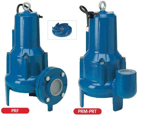 канализационные насосы Speroni PRM, PRF, PRT Vortex