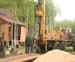 бурение скважин на песок в Московской области