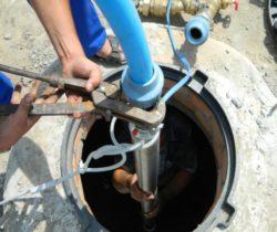 монтаж скважинных насосов